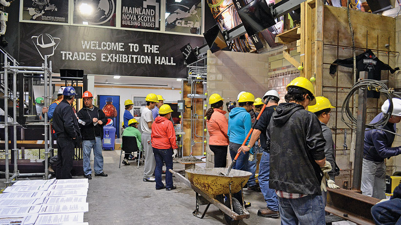 NSCSC Trades Exhibition Hall CREDIT:  Nova Scotia Construction Sector Council
