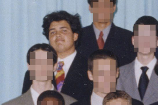 Michael Zehaf-Bibeau, from a yearbook photo in 1997. (The Toronto Star)