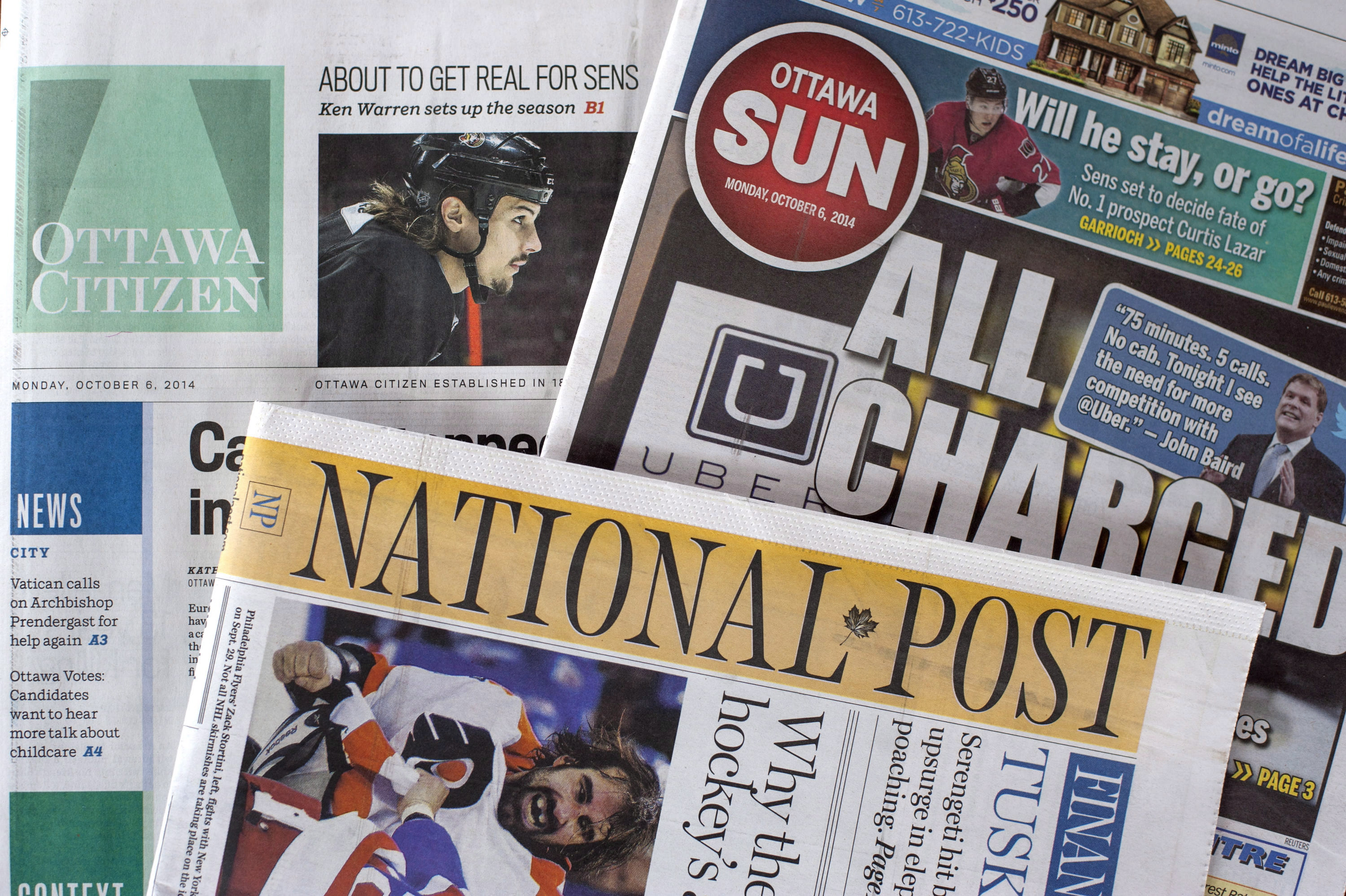 Concentration of media ownership in canada