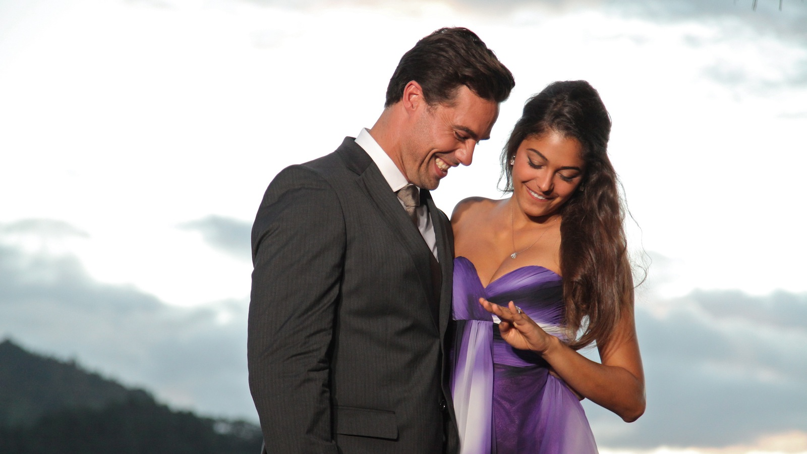 "Tim Warmels picked April Brockman, a 27-year-old realtor from Wasaga Beach, Ont., to be his bride on ""The Bachelor Canada."" (Rogers Media)"