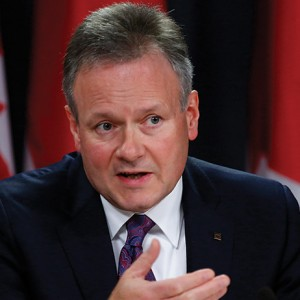 Bank Of Canada Governor Stephen Poloz News Conference As Bias Drops to Lift 1% Policy Rate