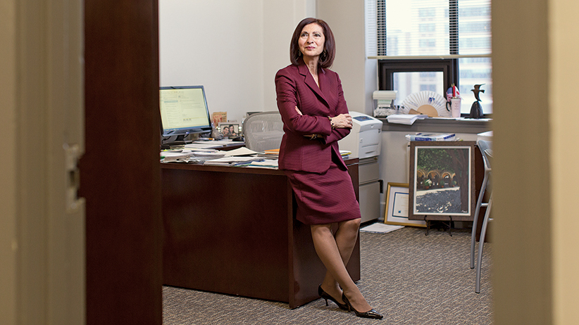 Ann Cavoukian. (Photo by Philip Cheung )
