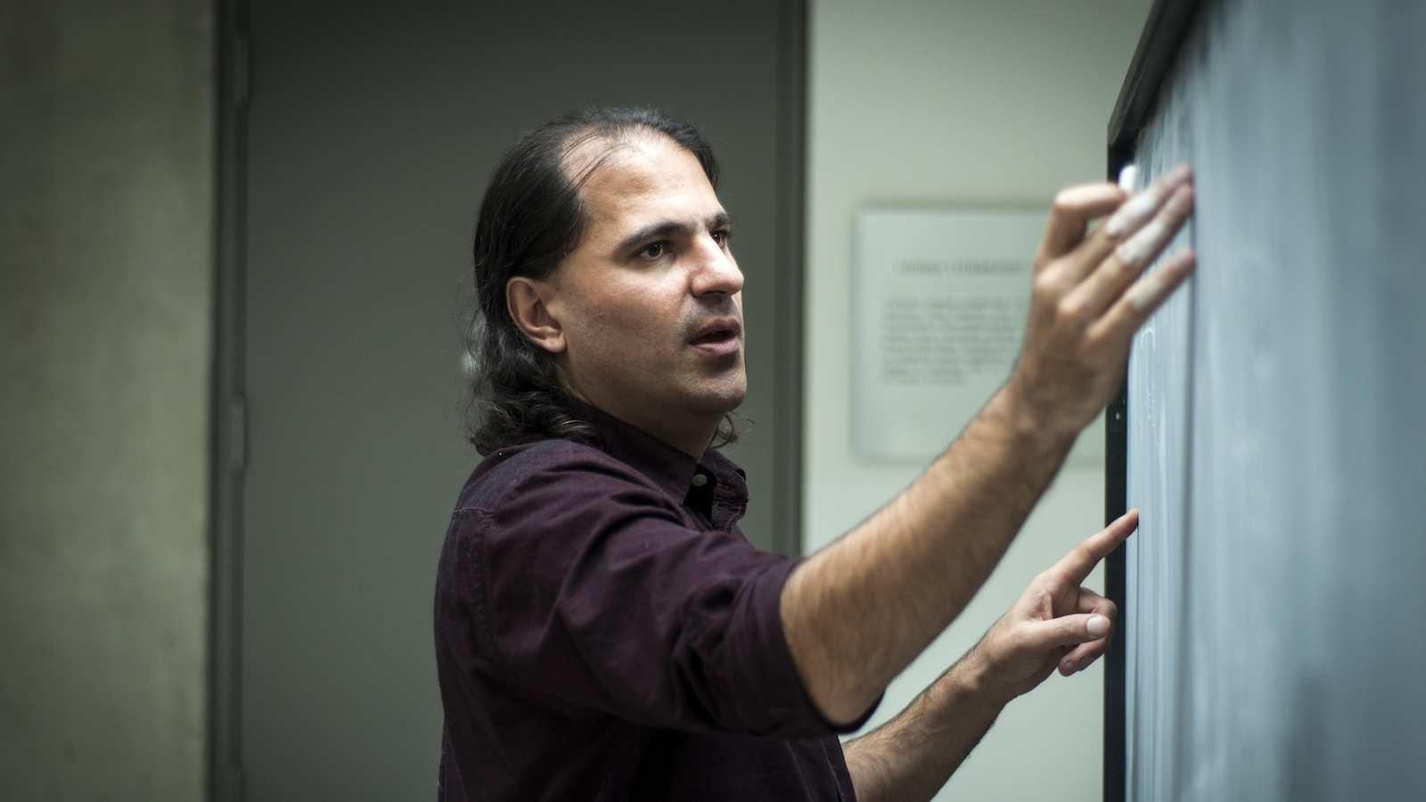Nima Arkani-Hamed, from Princeton's Institute for Advanced Study, will be tonight's speaker at the Perimeter Public Lecture. (Photograph by Gabriela Secara)