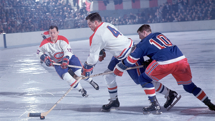 Montreal Canadiens Jean Beliveau, 1967 NHL Semifinals