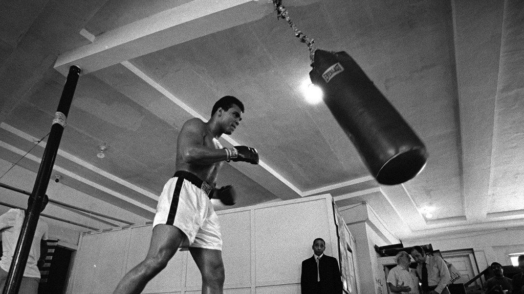 Sport, Boxing, Miami, USA, 6th March 1971, Former American heavyweight champion of the world Muhammad Ali pictured training for his fight with champion Joe Louis on March 8th