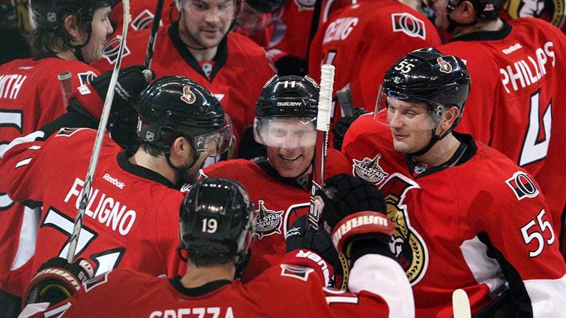 NHL Ottawa Calgary