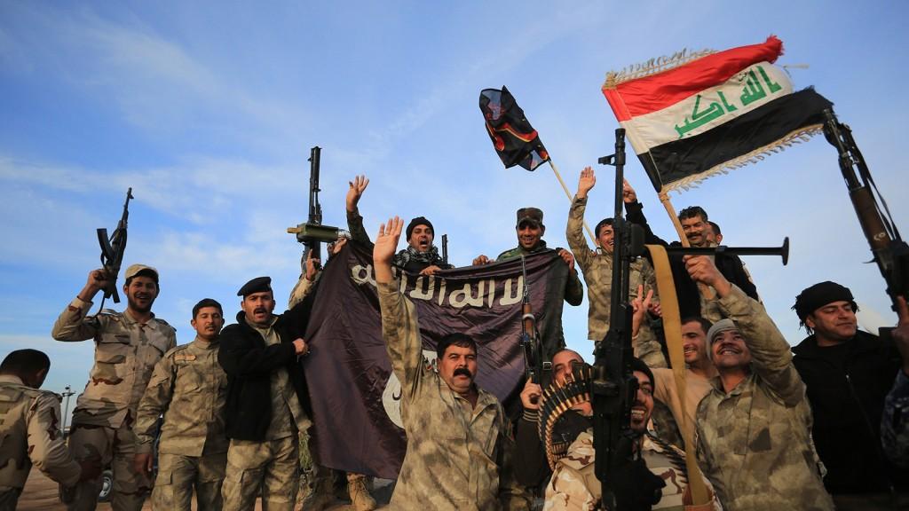 Iraqi army forces and Peshmerga regained control of Diyala's Sadiye town