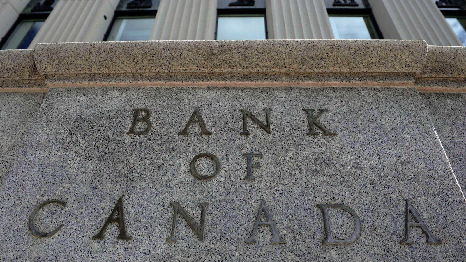 The Bank of Canada marker is pictured in Ottawa on September 6, 2011. (THE CANADIAN PRESS/Sean Kilpatrick)