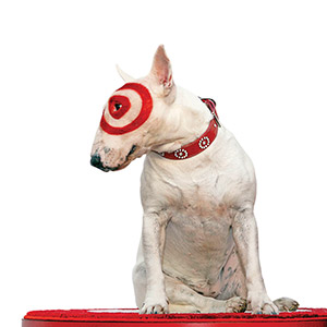 Bullseye, The Target Dog Attends 2009 ALMA Awards
