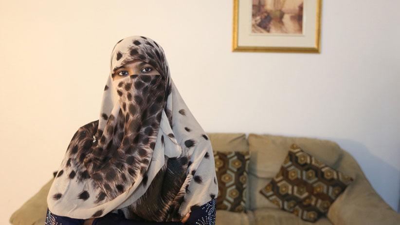 Zunera Ishaq. (Vince Talotta/Toronto Star/Getty Images)