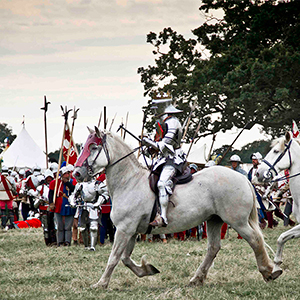 Bosworth Re-enactment.  2012.  Paul Benjamin Tebbutt/University of Leicester;