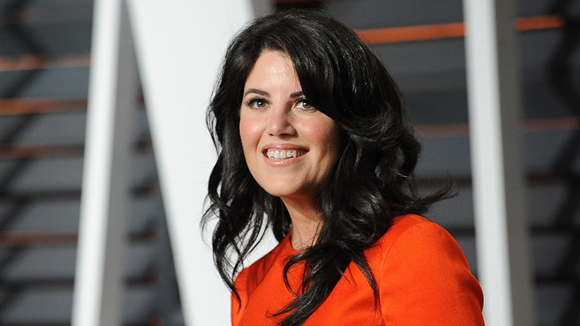 Monica Lewinsky at the 2015 Vanity Fair Oscar Party. (Photo by Jon Kopaloff/FilmMagic)