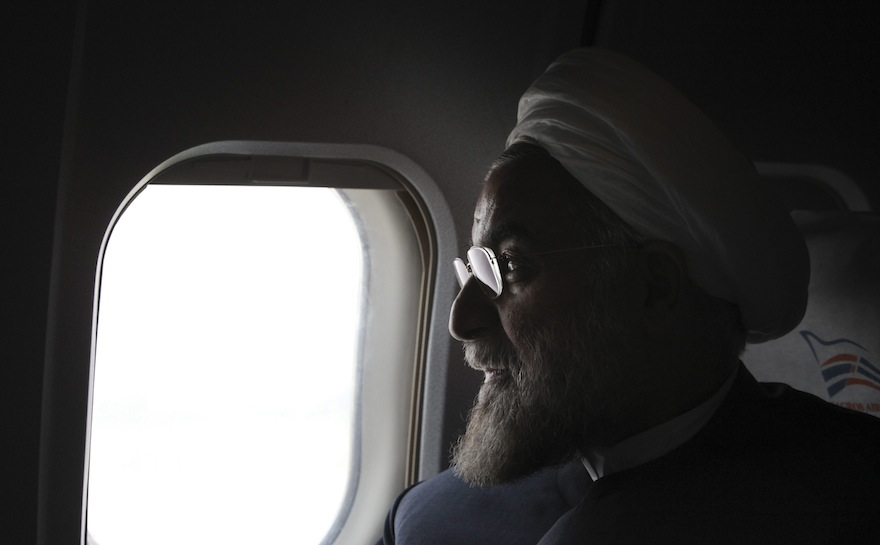 Hassan Rouhani, the president of Iran and a former top nuclear negotiator. (AP Photo/Vahid Salemi, File)