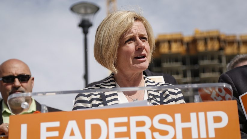 Alberta NDP Leader Rachel Notley - THE CANADIAN PRESS/Jeff McIntosh