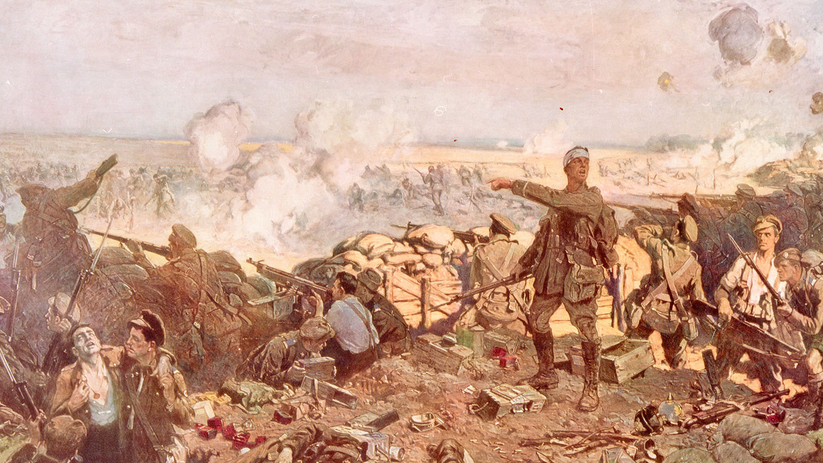 MIKAN 2837593: The Second Battle of Ypres. (Library and Archives Canada)