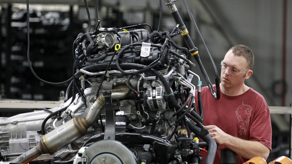 Canada's auto industry is exporting fewer vehicles than the country imports.