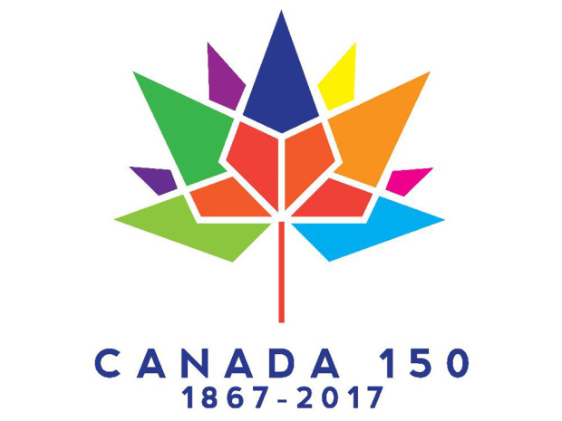 Canada 150 logo. (Department of Canadian Heritage)