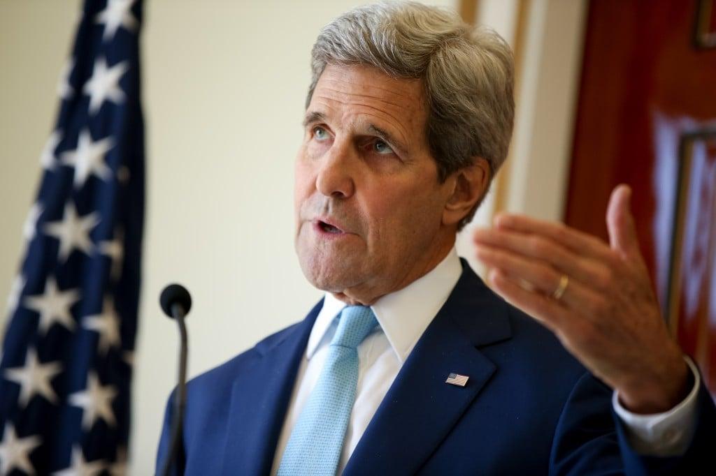 U.S. Secretary of State John Kerry. (Andrew Harnik/AP)