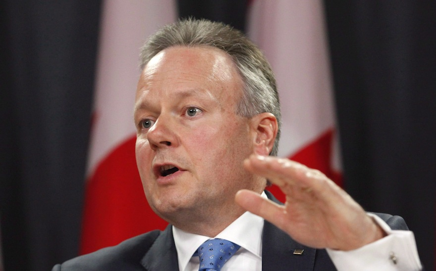 Bank of Canada Governor Stephen Poloz speaks at a news conference in Ottawa on Wednesday, April 15, 2015. The recent rise in oil prices and the exchange rate are adding to uncertainty about the direction of the country's economy, Poloz said Tuesday. THE CANADIAN PRESS/Patrick Doyle