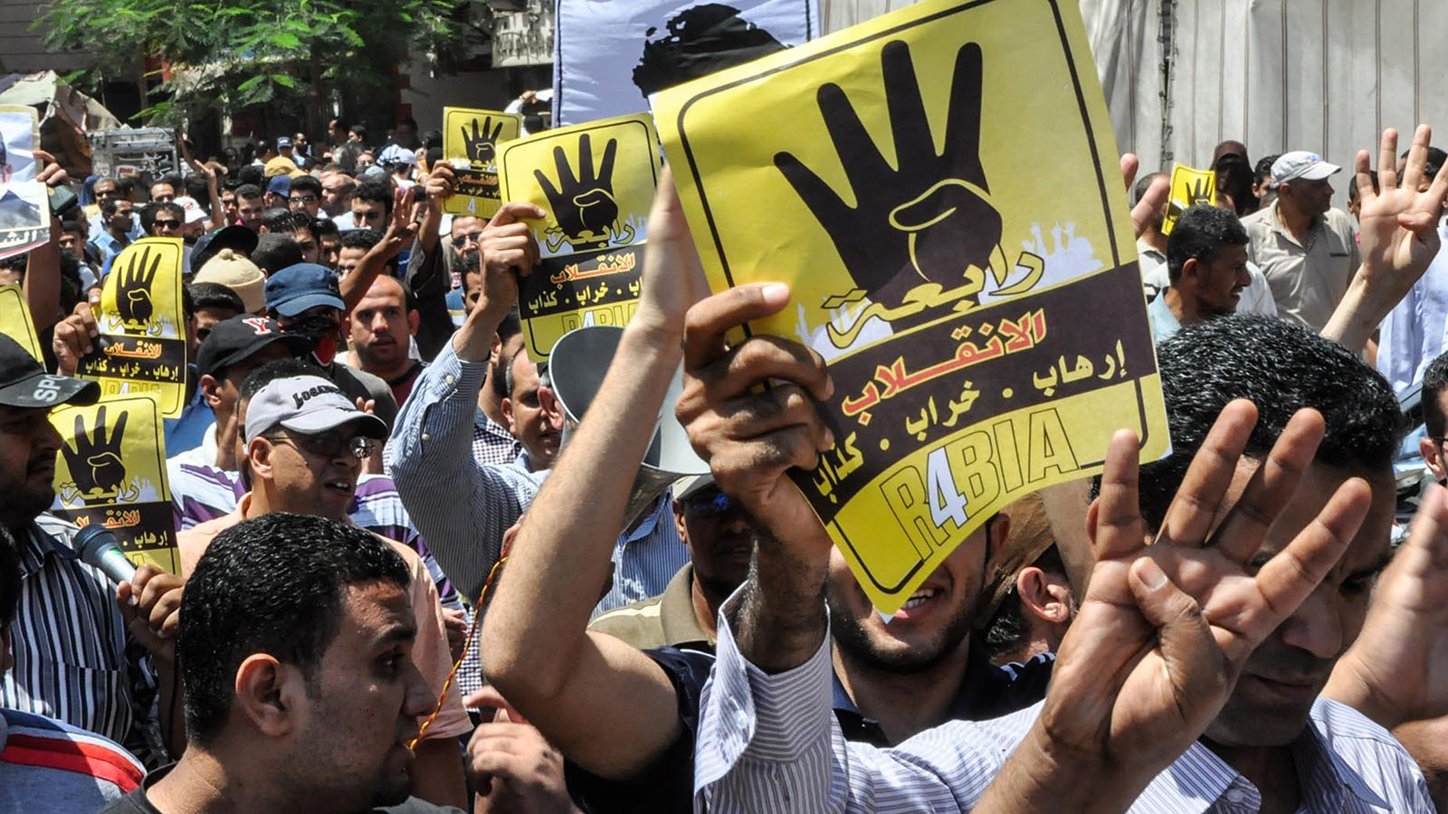First anniversary of Egyptian military coup