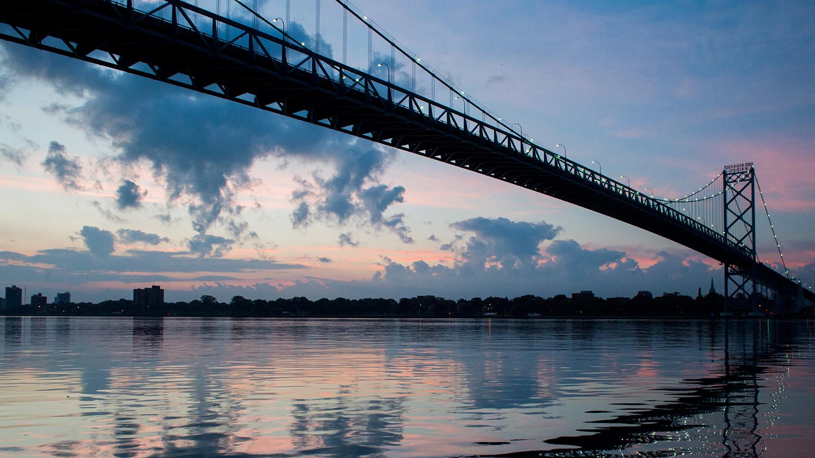 Canada S Battle For A New Cross Border Bridge