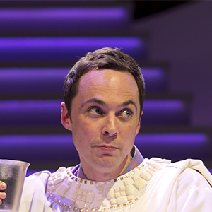 "Jim Parsons in ""An Act of God"" (Jeremy Daniel)"