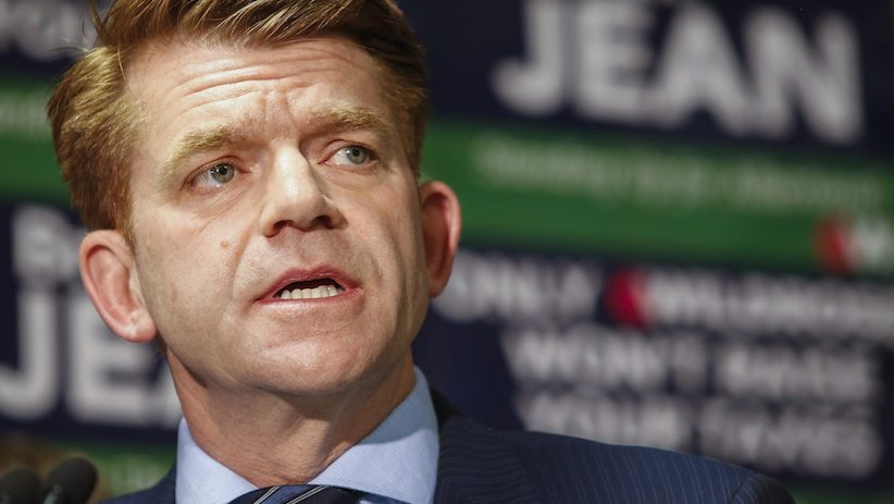 Wildrose leader Brian Jean. (Jeff McIntosh/CP)
