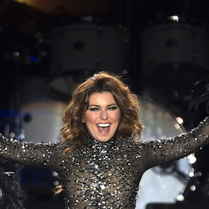 Shania Twain performs at the PEI 2014 Founders Week Concert at the Charlottetown Event Grounds in Charlottetown on Saturday, August 30, 2014. The event celebrates the 150th anniversary of the historic 1864 Charlottetown Conference which led to Canadian Confederation. THE CANADIAN PRESS/Andrew Vaughan