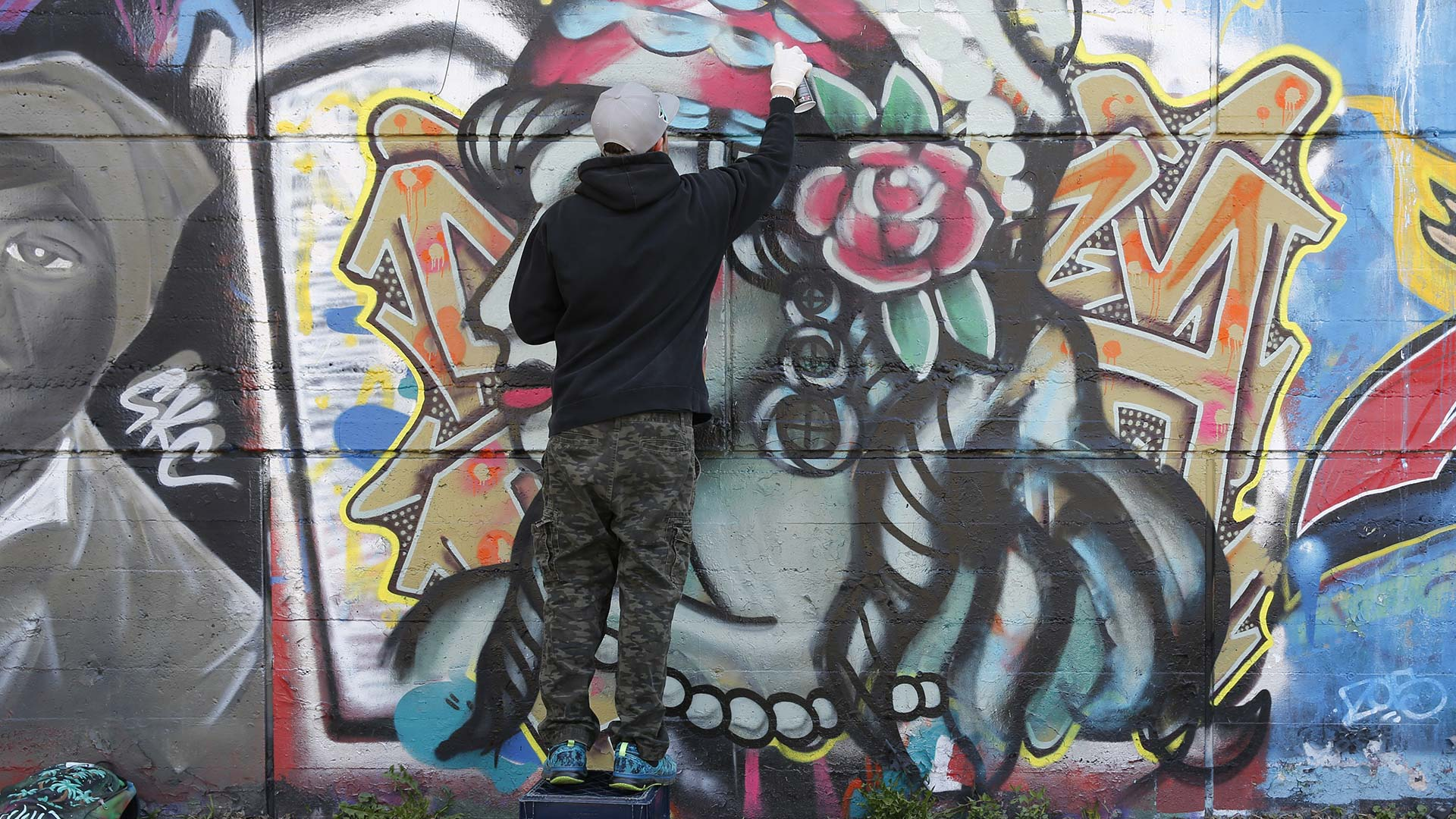 What it feels like to be a graffiti artist