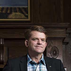 Brian Jean, the leader of the Wildrose Party, poses for a photo during Stampede week in Calgary, Alberta at the Petroleum Club on July 7, 2015. Jimmy Jeong