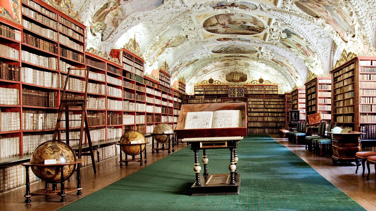 Renaissance Library. (iStock)