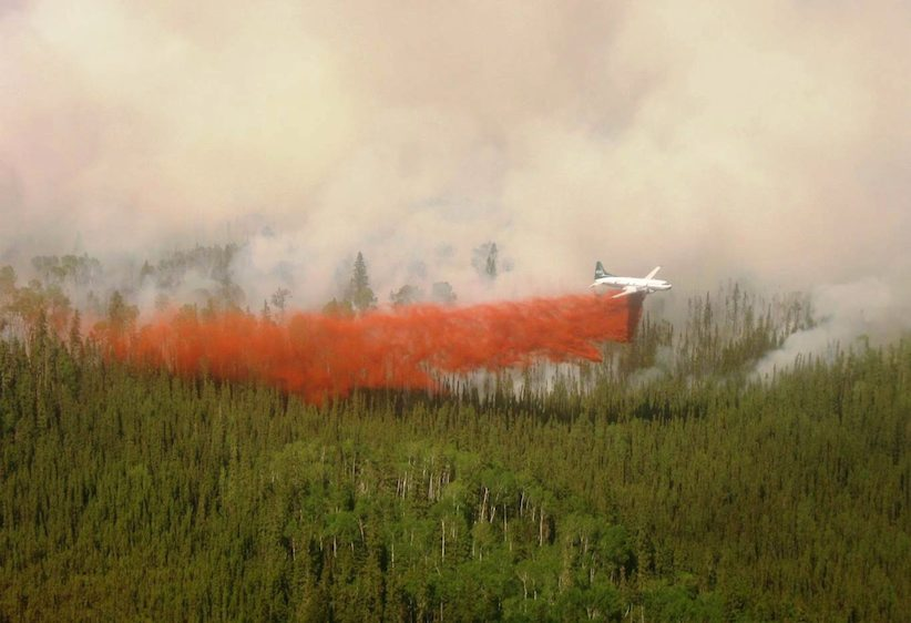 (The Canadian Press/Saskatchewan Ministry of Environment - Wildfire Branch)