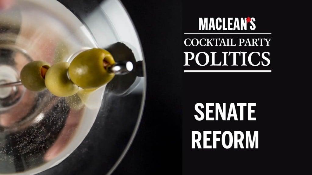 cocktail party senate