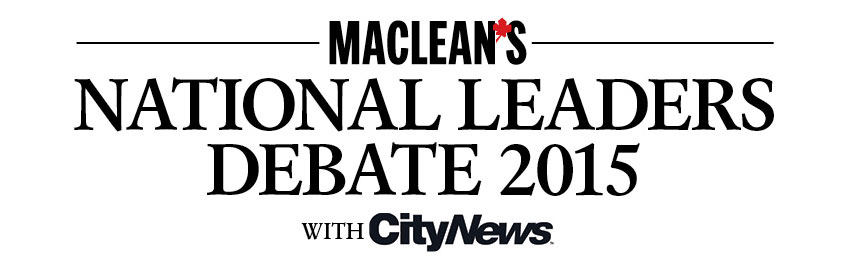 Maclean's National Leaders Debate 2015