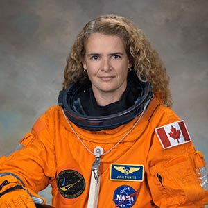 Official ACES Suit Astronaut Portrait for Julie Payette. NASA/CSA