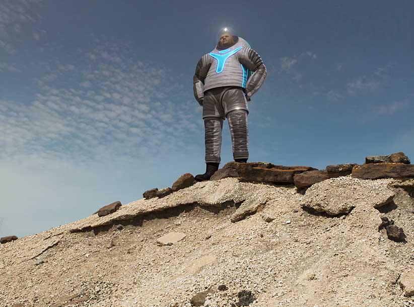 Z2 suit. NASA.
