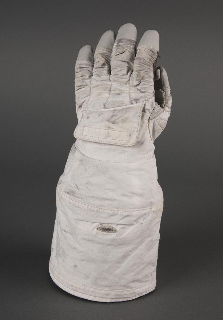 Phase VI Glove, designed by Amy Ross for NASA. Smithsonian National Air and Space Museum