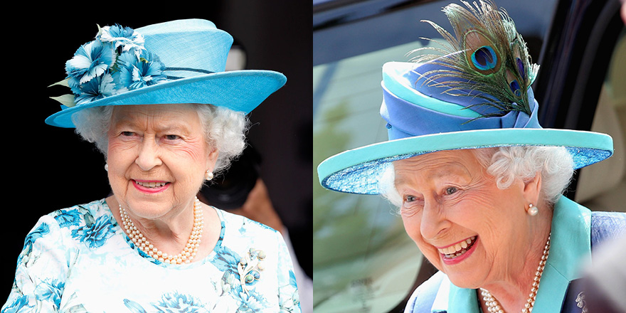 8dae8bd0e2 Dressed to impress  The classic uniforms of Queen Elizabeth II ...