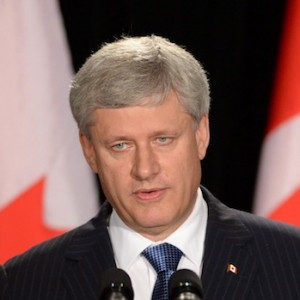 Conservative Leader Stephen Harper makes a campaign stop in Ottawa on Sunday, August 9, 2015. Canadian's will head to the polls on October 19, 2015.  THE CANADIAN PRESS/Sean Kilpatrick