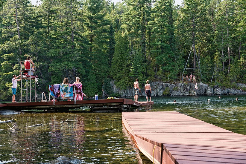 Summer camp for adults is too a thing