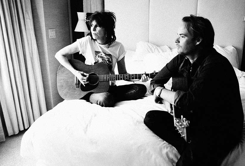 "Chrissie Hynde and her former partner Welsh singer J.P. Jones. The two formed a band called ""J.P., Chrissie and the Fairground Boys"". They released their debut album, Fidelity, on August 24, 2010. (Jimmy Fontaine/eyevine/Redux)"