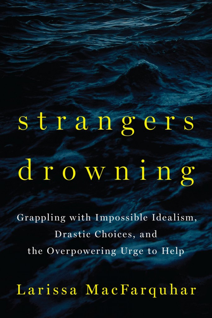 Cover of Strangers Drowning for book review MAC39. No credit.
