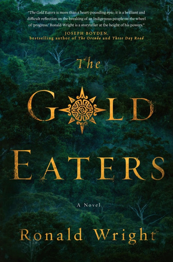 Cover of Gold Eaters for book review MAC39. No credit.