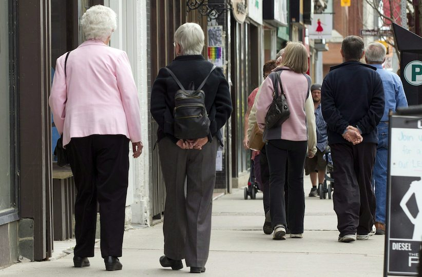 The tidal wave of seniors has to be seen to be understood