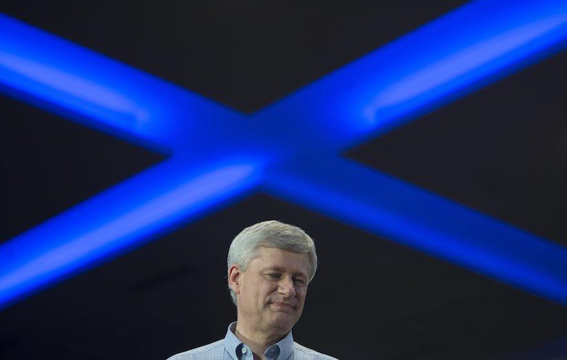 Stephen Harper  | Toronto |Oct. 17, 2015| Jonathan Hayward, The Canadian Press