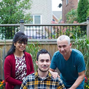 MACLEANS-10.05.15-VEGETATIVE RECOVERY-OAKVILLE, ON: After suffering a brain injury due to lack of oxygen while choking in bed, Juan Torres slowly makes a remarkable recovery to which doctors are amazed. Torres and his family make advances daily at the home in Oakville, ON.