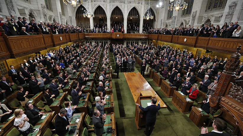 A joint session of Parliament in the House of Commons in Ottawa November 3, 2014. (Chris Wattie/Reuters)