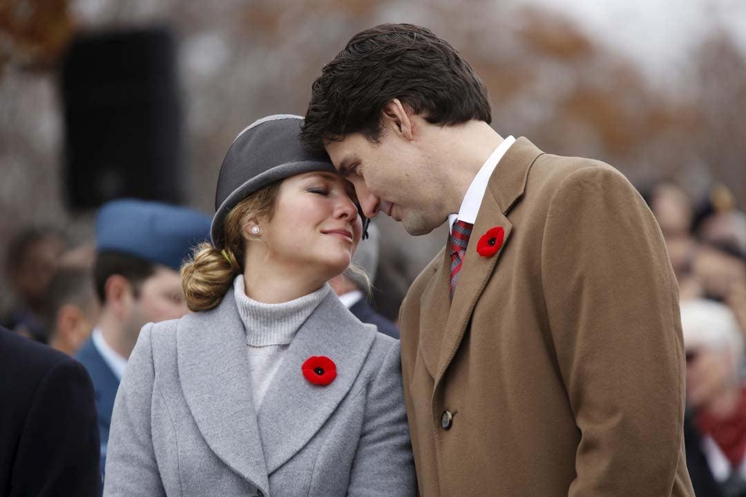 'Smile back at me': Sophie Grégoire-Trudeau breaks into song