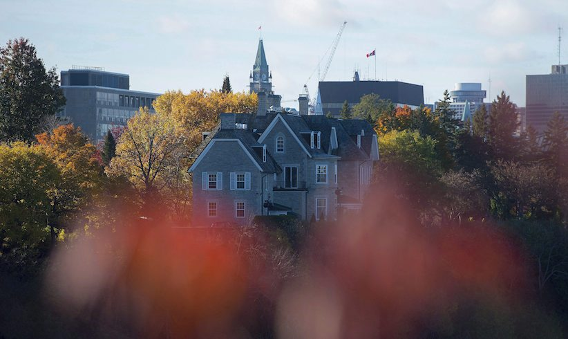 The Canadian prime ministers' residence, 24 Sussex, is seen on the banks of the Ottawa River in Ottawa on Oct. 26, 2015. Be it renovated or razed, the resurrection of 24 Sussex Drive should be documented as a showcase of Canadian history and innovation, says an expert in public portrayals of what -- and what not -- to do with older home projects.Ever since Justin Trudeau confirmed that he's giving the prime minister's official residence a wide berth, Bryan Baeumler has received several inquiries about whether he'd tackle a reno job at Canada's most famous address. THE CANADIAN PRESS/Sean Kilpatrick