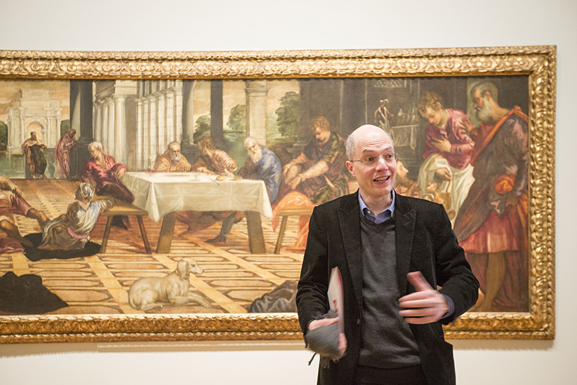 TORONTO, ON - APRIL 29: British philosopher Alain de Botton brings his latest project, Art As Therapy, to the AGO.  April 29, 2014. (Carlos Osorio/Getty Images)